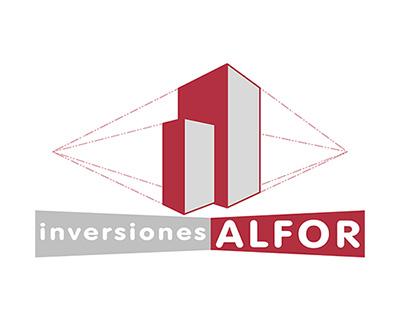"logo ""Inversiones ALFOR"""
