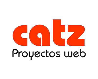 "logo ""CATZ Proyectos web"""